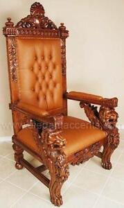 Lion Throne Chairs