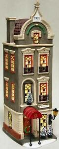 Pickford Place -UTube NEW Department Dept. 56 Christmas In The City Village CIC
