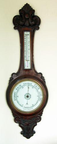Aneroid Barometer Ebay