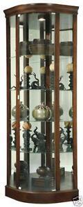 Glass Corner Curio Cabinets