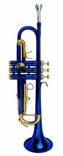 NEW BLUE BAND TRUMPET W/CASE-APPROVED+ WARRANTY