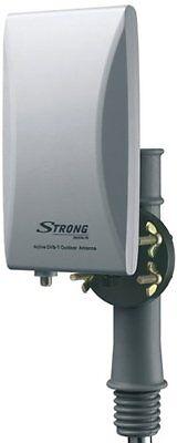 Antenna TV amplificata ALTO GUADAGNO 36 dB  per esterno/int. Filt. LTE - STRONG
