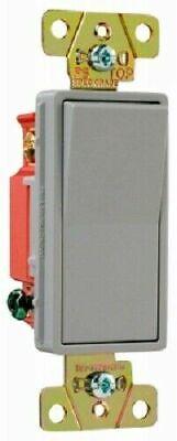 Pass Seymour Legrand 20a Gray 3 Way Decorator Switch Grey Heavy Duty