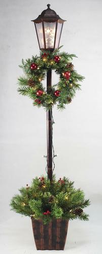 Christmas Decoration Outdoor Yard Decor Xmas Lamp Post Tree