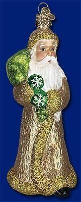 PELZNICKEL RU KLAAS BELSNICKEL SANTA CLAUS OLD WORLD CHRISTMAS ORNAMENT 40213