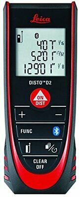 Us Buyer Leica Disto D2 New 330ft Laser Distance Measure With Bluetooth 4.0