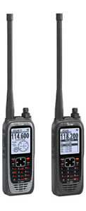 New Icom IC-A25N Airband Tranceiver, Nav/Com/GPS Bluetooth Radio