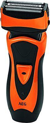 AEG HR 5626 Afeitadora eléctrica Ingenieria Alemena Voltaje Universal, Naranja