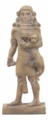 "Ebros Louvre Museum Ancient Assyrian Warrior Gilgamesh Statue 8.75"" Tall"