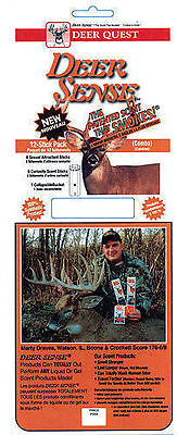 (Deer Quest 12-Stick Pack(Combo)6-Curiosity Scent Stcks 6-Sexual Attractant Stcks)