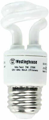 Westinghouse 3667000 - 5 Watt Mini-Twist CFL Light Bulb
