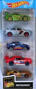 Hot Wheels 5-Pack HW Nightburnerz FKT55 1:64