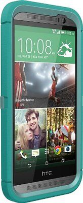 OtterBox Defender Series for HTC One M8 - Retail Packaging - Aqua