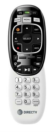 Directv Rc73 Remote Control (rf/ir) Replaces Rc72 Rc71 At&t