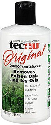 Tecnu Outdoor Skin Cleanser, Removes Poison Oak/Ivy Oils 12oz Each