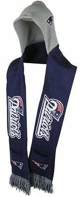 NFL Football Team Logo Warm Winter Knit HOODED Scarf - Pick Your Team!