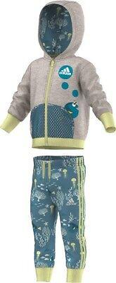 Adidas, Baby-Jogger,Trainingsanzug, Jacke-Hose-Set, Kombi. AY6031