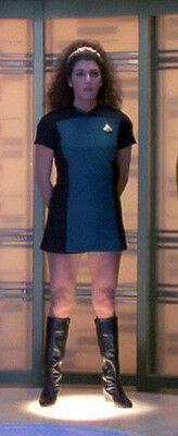 Star Trek Next Generation Uniform (Star Trek Next Generation, Woman's Skant Uniform Pattern)