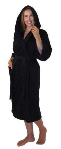 Womens Hooded Bathrobe Ebay