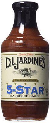 Jardines Bbq Sauce (D.L. Jardines 5-Star BBQ Sauce 18)