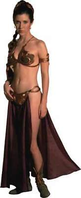 PRINCESS LEIA in Sexy Return Of The Jedi SLAVE Costume Window Cling Decal - NEW