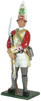 WBritain 50047C Regiments / 48th Regiment of Foot Grenadier Company Standing a