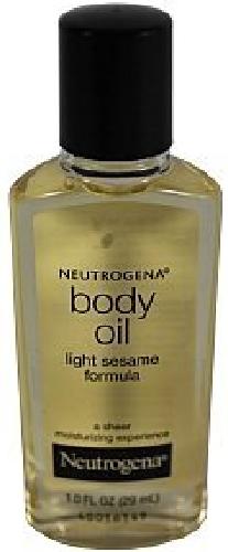 Neutrogena Body Oil, Light Sesame Formula, Sesame Oil, 1 Fl.