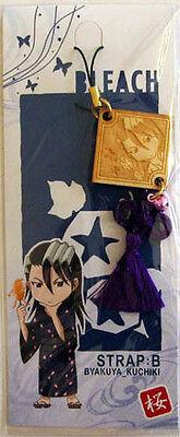 Bleach Phone Strap Wooden Byakuya Licensed NEW