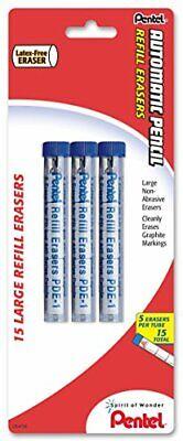 Quicker Clicker Eraser Refills Pack Of 15