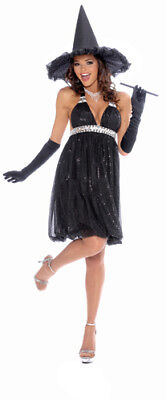 Woman Witch Halloween Costumes (Womens Glamour Witch Halloween Costume Size)
