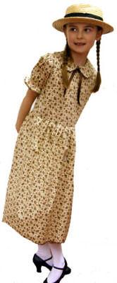 Viktorianisch Edwardianisch / 1940er -wartime Damen Blumendruck Kleid & - Edwardian Kleid Kostüm