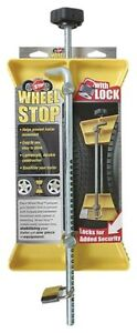 Camco 44642 RV Wheel Stop with Padlock  NEW