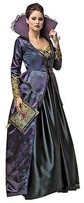 Rasta Imposta Once Upon A Time Evil Queen Fairy Tale Halloween Costume - A Fairy Costume