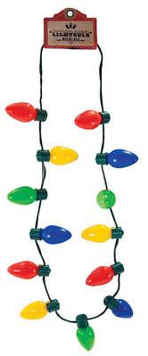 Saiten 13 Weihnachten Glühbirne Halskette 6 Blinkende Blinkend Modi Große Größe ()