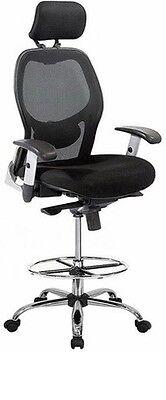 Brand New Mesh Drafting Chair by Harwick (Model 3052D)
