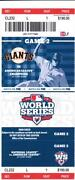 World Series Tickets Game 2