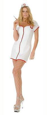 HOT AID NURSE NAUGHTY ADULT HALLOWEEN COSTUME WOMEN'S SIZE MEDIUM