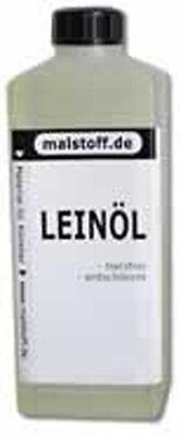 Leinöl 1L für Ölfarben Pigmente Farben