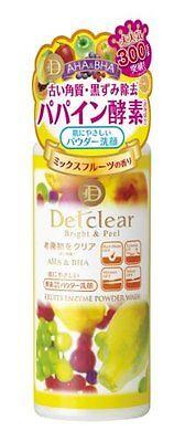 MEISHOKU DET-Clear Bright & Peel Fruit Enzyme Powder Wash 75g