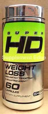 Cellucor Super-HD 60 Caps Free/Fast Shipping New/Factory Sealed Extreme