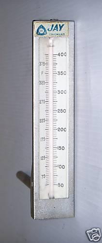 "Jay Cincinnati Thermostat 50-400F gauge is 5 1/2"" NEW"