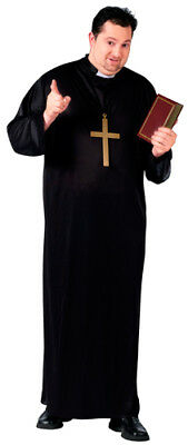 Catholic Priest Big & Tall Mens Religious - Big And Tall Mens Costumes