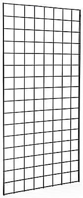 Pack Of 3 Gridwall Panels 2x4 Black