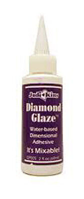 Judi Kins 2 OZ DIAMOND GLAZE Judikins Pendant Sealer crystal adhesive on Rummage