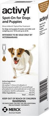 Activyl Spot-On Flea Treatment for Small Dogs 14-22 lb Single Dose (044535)
