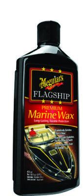 Meguiar's Boat Marine Flagship Premium Wax 16 oz  Dramatically Enriches
