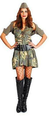 Best Adult Costumes (Best Dressed Sexy Adult  Army Girl Costume One Size Fits)