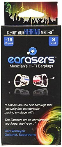 Earasers Musicians Plugs Small