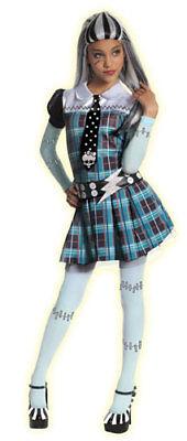 Monster High Franki Stein Girls Halloween Costume](Monster High Costume For Girls)