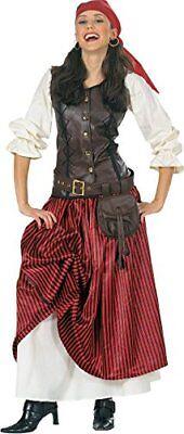 Luxus Piratin Freibeuterin Piraten-Kostüm  Halloween Fasching Karneval